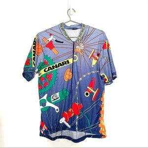 Canari Cycling Jersey Baroque Pattern All over prt